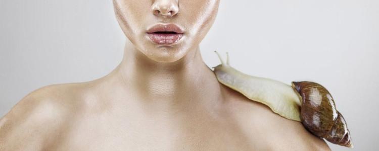 Le proprietà della bava di lumaca per la pelle