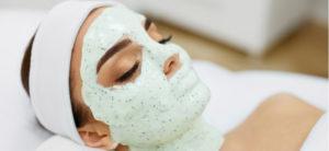 Maschera per il viso all'alginato